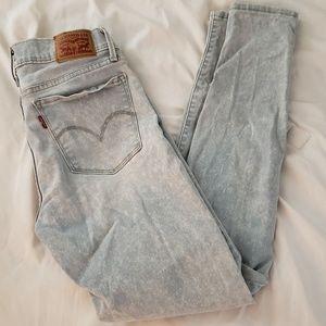 Levis acid wash jeans